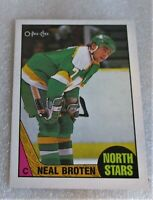 1987-88 O-Pee-Chee Neal Broten Minnesota North Stars #11 Card! OPC NM-M
