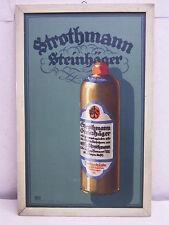 STROTHMANN STEINHÄGER: REKLAME/WERBUNG vor 1945: PLAKAT:ENTWURF: LUCIAN BERNHARD