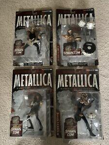 Metallica Harvester of Sorrow McFarlane figures Full Set