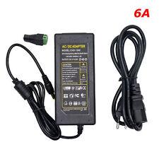 6A 12V 72W Transformateur Alimentation Adaptateur Secteur SMDLEDRGB DC Pour LED