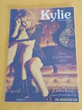 KYLIE - KYLIE MINOGUE - GOLDEN - Laminated Promotional Poster