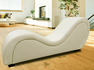 Sex-Sofa, Farbe beige / creme, Design möbel, Erotik couch Tantra sessel Wellness