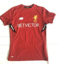 Liverpool FC Football Shirt Training Kit Betvictor - Size S
