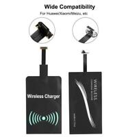 MODULO RICARICA WIRELESS QI RICEVITORE ADATTATORE MICRO USB TYPE-C 5V 1000MAH