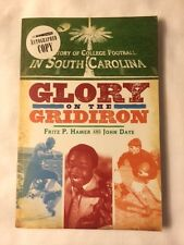 SIGNED History of College Football in South Carolina: Glory on the Gridiron 1st
