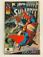 SUPERMAN ANNUAL #4 (1992) DC COMICS   VF/NM