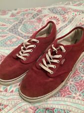 Vans Red Shoes Size 4