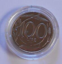 100 LIRE 1997 ITALIA TURRITA 2° TIPO PROOF IN CAPSULA - MONETA NON COMUNE -