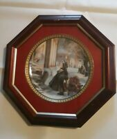 """Trisha Romance"""" """"Star of Wonder"""" Collector Plate with COA - Framed - 1996"""