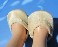 Madame Alexander Doll Satin Shoes Slipper Original Fuzzy Bottom Compo 13 Vintage