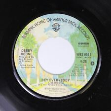 Pop 45 Debby Boone - Hey Everybody / California On Warner Bros. Records
