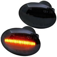 LED SEITENBLINKER schwarz für alle FIAT 500, 500C, 500L   ab 2007-  [72405-1]