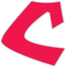 "Cleveland Indians MLB Baseball Car Bumper Window Sticker Decal 5""X4"""