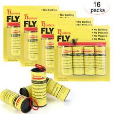 16pc Insect Bug Fly Hanging Glue Catcher Trap RibbonTape Strip Sticky Flies Roll