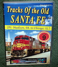 "20206 TRAIN VIDEO DVD ""BNSF TRACKS OLD SANTA FE"" VOL. 9  IOWA & ILLINOISE"