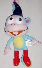 """Plush Nanco 10"""" BOOTS From DORA MONKEY Toy Animal"""