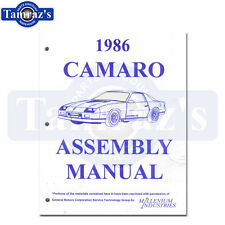 1986 Camaro Factory Assembly Manual Loose Leaf UnBound New 606 Pages