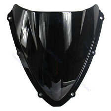 Black Windshield Windscreen Motorcycle For Suzuki GSXR 600 750 K8 2008 2009 New