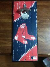 Boston Red Sox MLB  Bottle Opener Wood Sports Sign