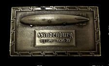 Hindenburg German Von Airship Belt Buckle Zeppelin Air Ship Disaster LZ 129  X