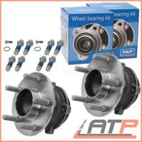 2x SKF WHEEL BEARING KIT + HUB REAR LH + RH VOLVO V50 1.6-2.4 D3 D4 T5