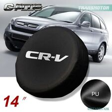 "14"" Spare Wheel Tire Tyre Cover Case Soft Bag Protector For Honda CRV CR-V"