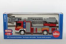1:50 SIKU 2106 Mercedes Benz Feuerwehr-Drehleiter in OVP | Modellauto LKW