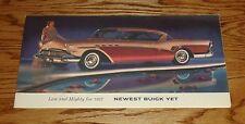 Original 1957 Buick Full Line Foldout Sales Brochure 57 Roadmaster Super