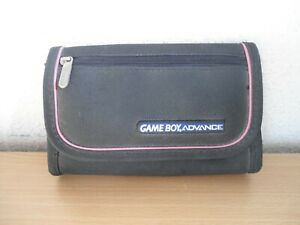 Official Nintendo Game Boy Advance Black & Pink Protective Material Case