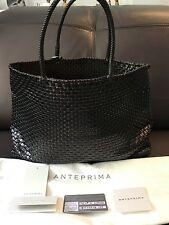 ANTEPRIMA METALLIC BLACK/PURPLE WIRE TOTE BAG W/CARDS & DUST BAG! MINT! $625!