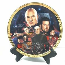 Hamilton Collection 1994 Star Trek The Next Generation The Episodes Plate
