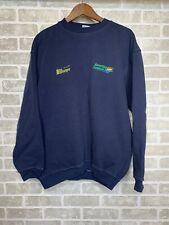 Vintage Benetton Formula 1 Racing Team XXL Navy Blue Sweatshirt Sweater