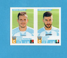 PANINI CALCIATORI 2015-2016- Figurina n.811- FERREIRA+SESTU - V.ENTELLA -NEW