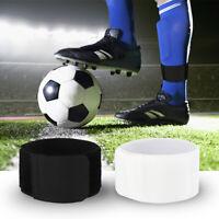 Fußball Schienbeinschoner Einstellbare Elastische Sportbinde Sport FixiergürteBC