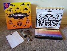 THINKBLOT PARTY ADULT BOARD GAME BY MATTEL FROM THE INVENTOR OF PICTIONARY