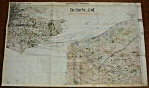 WWII German Invasion of England Map Operation SEALION
