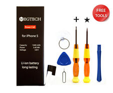 Genuine Battery Replacement for Apple iPhone 5 With Tools From Megtech Original