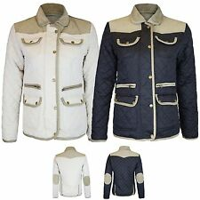 Zip Hip Length Quilted Casual Coats & Jackets for Women