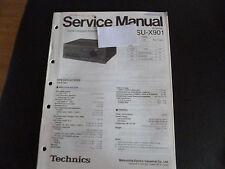 Original Service Manual Technics amplifier su-x901