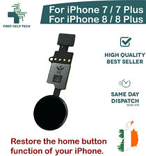 iPhone 7 8 Plus Home Button Function Restore YF 4th Gen Flex No Bluetooth Black