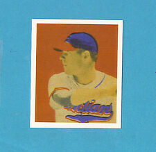 1949 Bowman Reprint #43 Dale Mitchell Card - Cleveland Indians