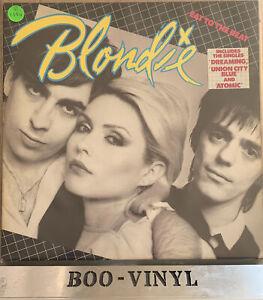 "Blondie - Eat to the Beat Album LP 12"" vinyl Record New Wave Punk  1979 EX / EX"