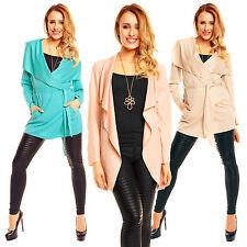 Knielang Damenjacken & -mäntel im Sonstige Jacken-Stil mit Polyester für Freizeit
