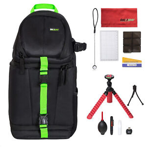 Sling Bag/Backpack for DSLR and Mirrorless Cameras with Accessories - Deco Gear