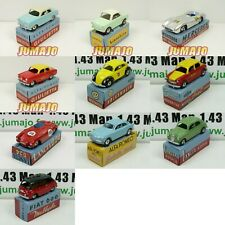 Lot-C 10 Cars 1/48 Mercury Hachette: Alfa Romeo, Fiat, VW, Mercedes