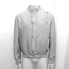 NEW Mens Dior Homme Grey Lightweight Bomber Jacket GENUINE RRP £900 Size: 54 XXL