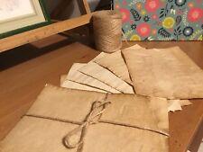Teinté à la main Vintage Effet Papier Parchemin-Craft/Notes/Journal/Celtic/MEDIEVAL