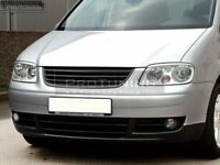 No Logo grill for VW Touran Prefacelift sport debadged badgeless R grill
