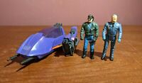 Piranha w/ Sly Rax 1985 MASK Action Figure Vehicle Kenner Vintage *Incomplete*