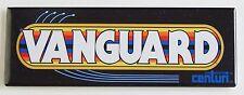 Vanguard Marquee FRIDGE MAGNET (1.5 x 4.5 inches) arcade video game